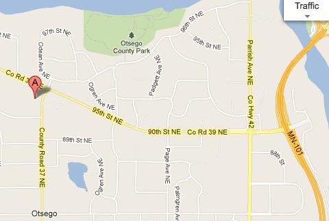 Elk River Alano Location Map